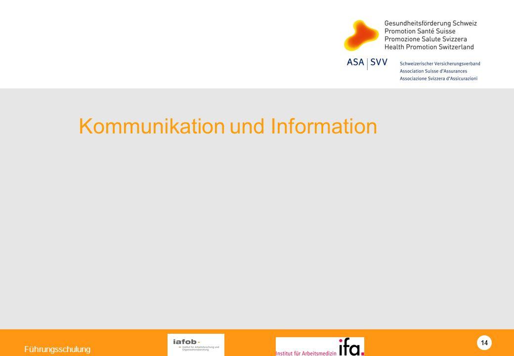 Kommunikation und Information