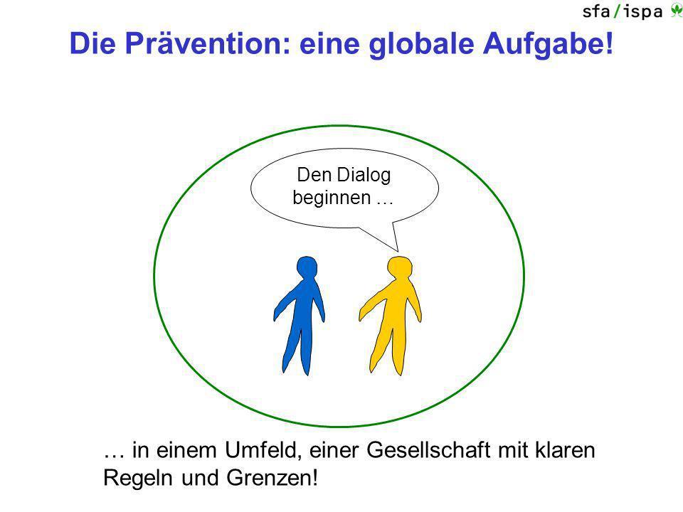 Die Prävention: eine globale Aufgabe!