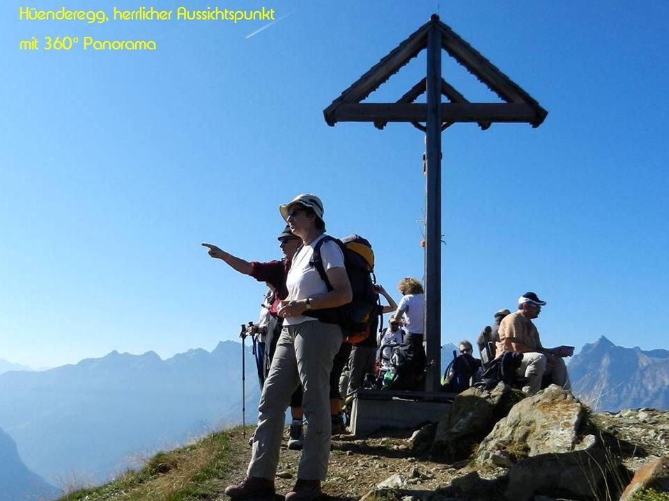 Hüenderegg, herrlicher Aussichtspunkt