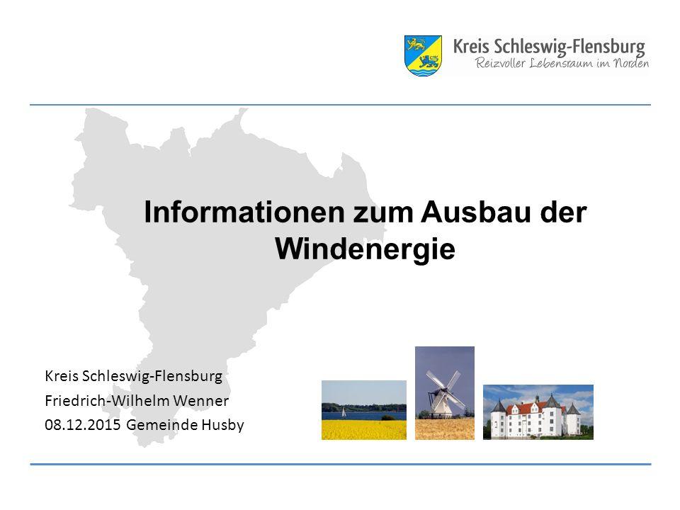 Informationen zum Ausbau der Windenergie