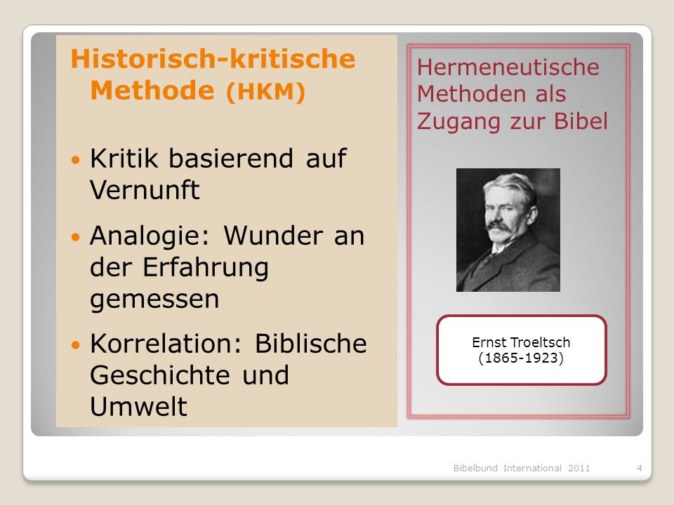 Historisch-kritische Methode (HKM)