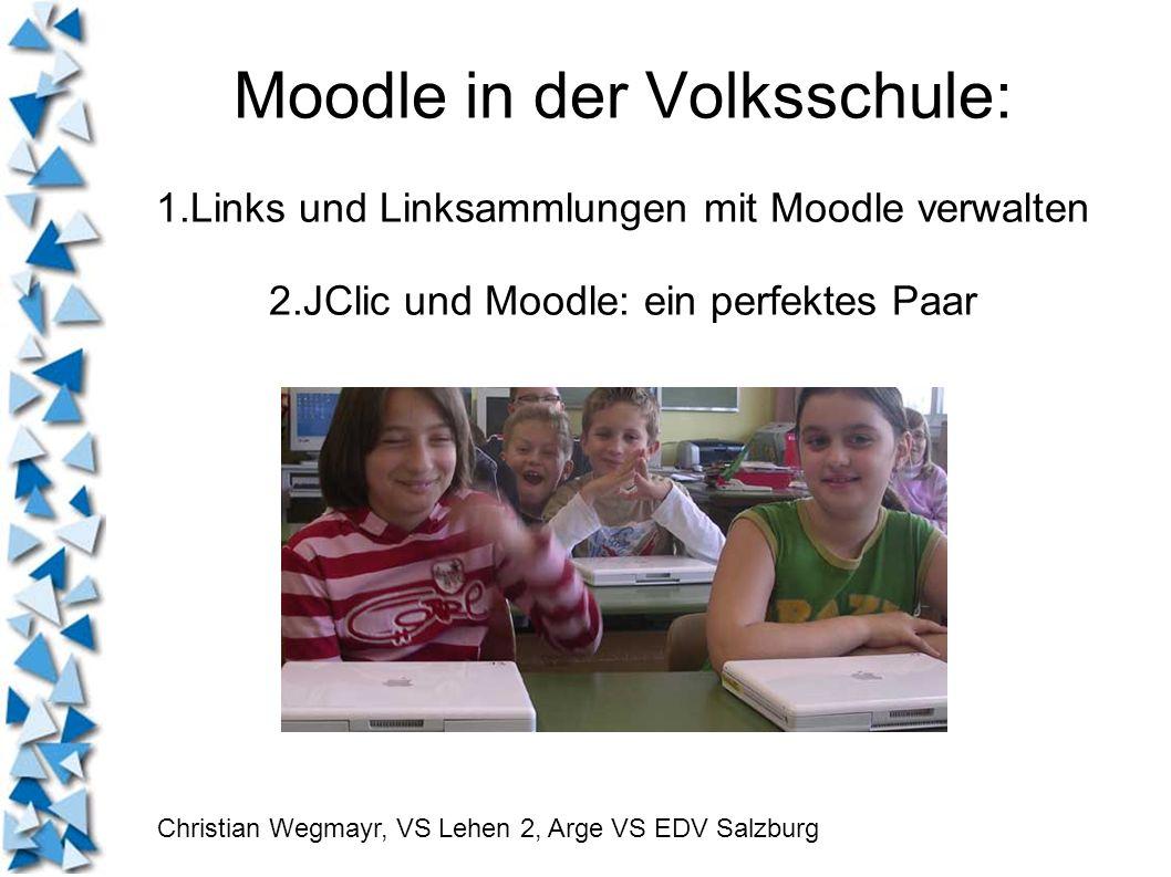 Moodle in der Volksschule: 1