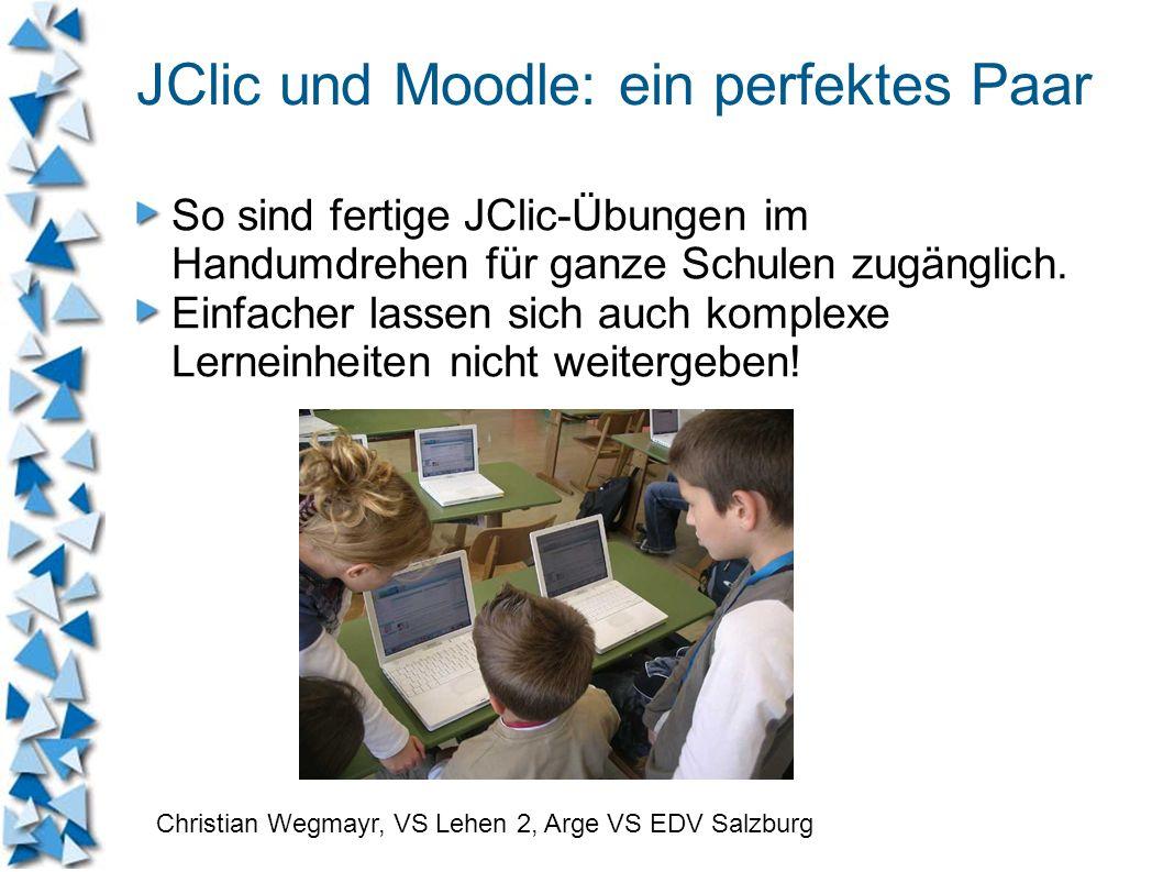 JClic und Moodle: ein perfektes Paar