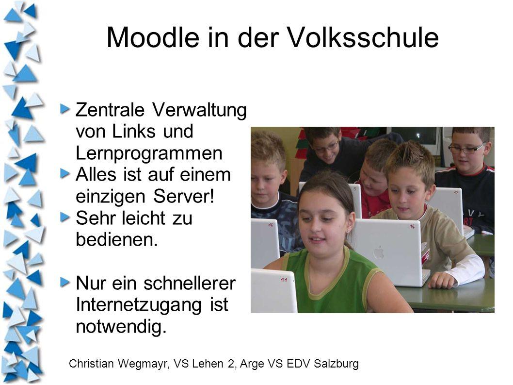 Moodle in der Volksschule