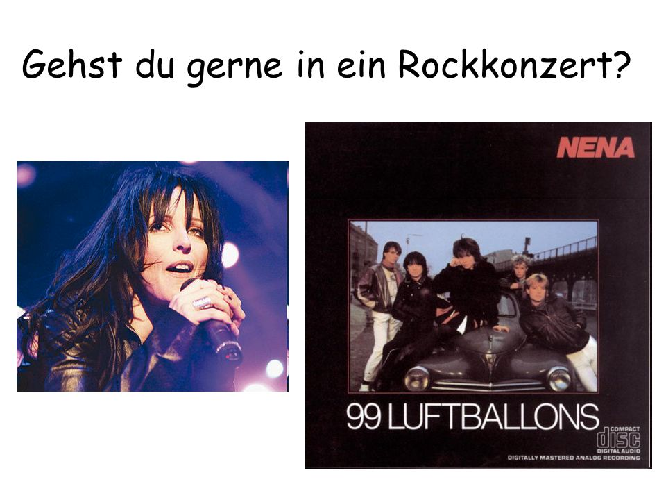 Gehst du gerne in ein Rockkonzert
