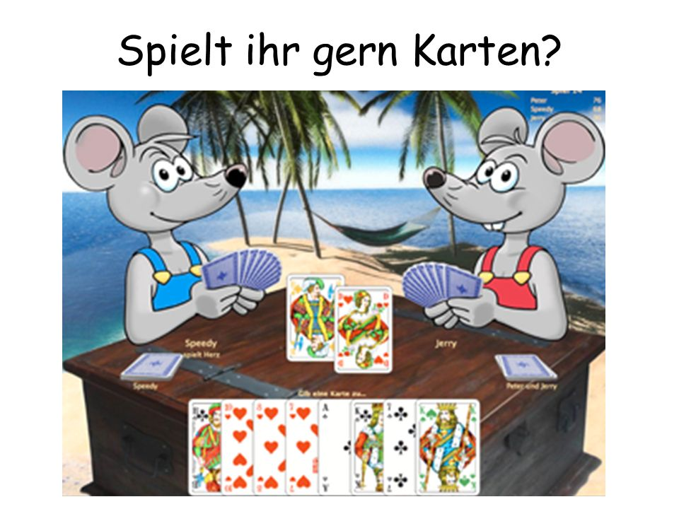 Spielt ihr gern Karten
