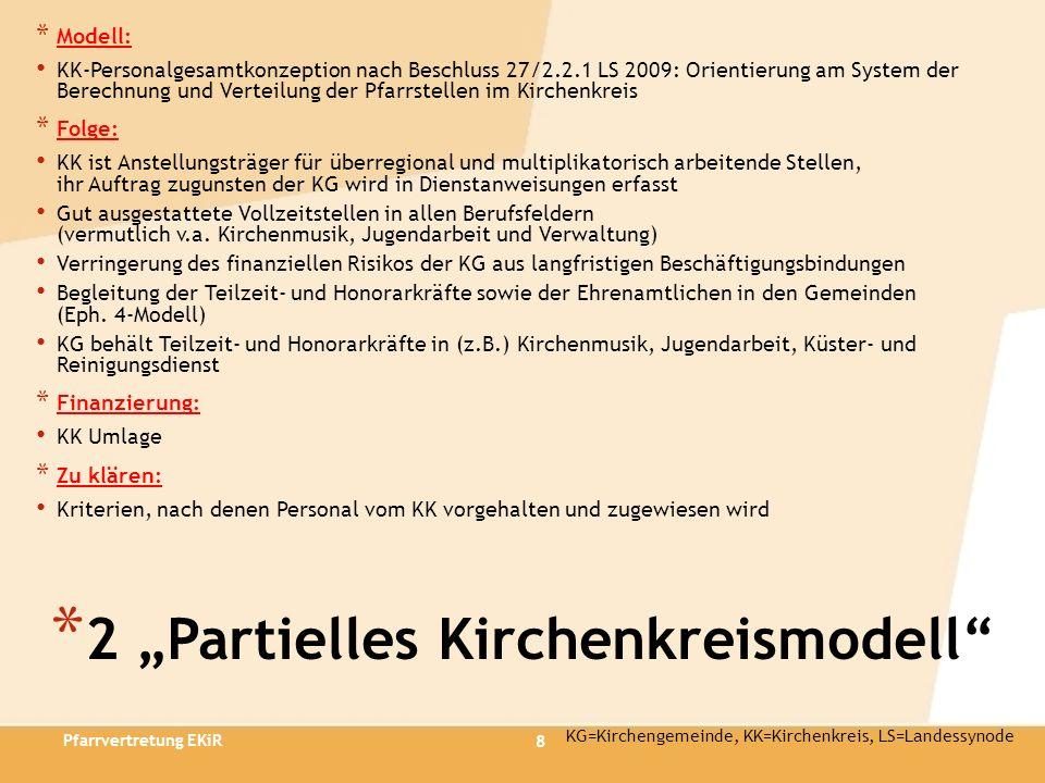 "2 ""Partielles Kirchenkreismodell"