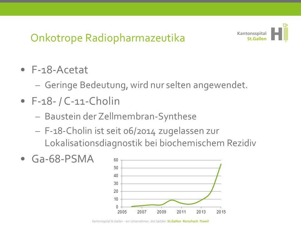 Onkotrope Radiopharmazeutika