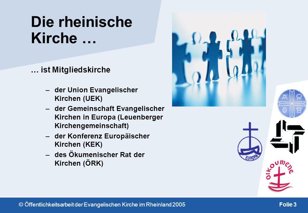 Die rheinische Kirche …