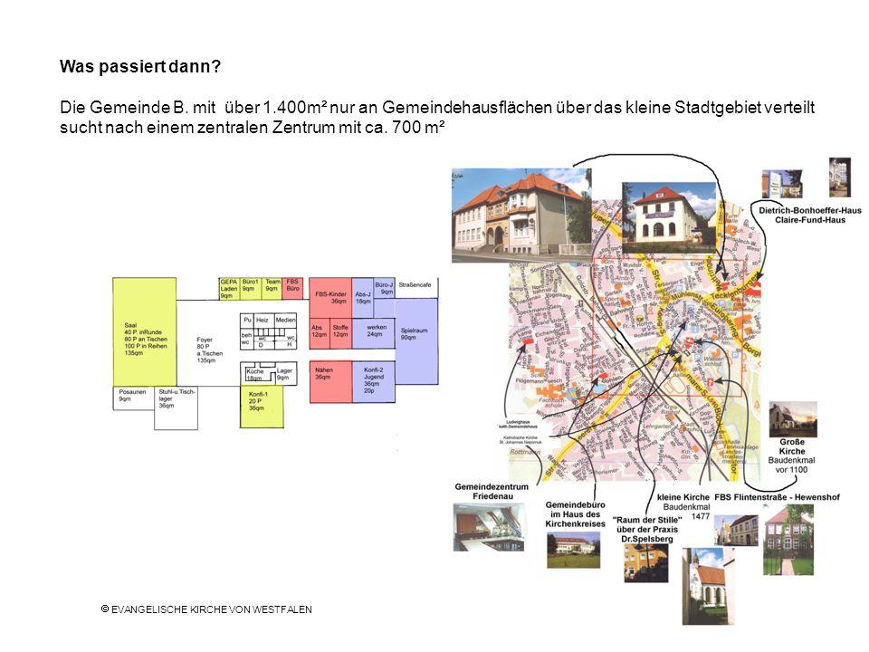 sucht nach einem zentralen Zentrum mit ca. 700 m²