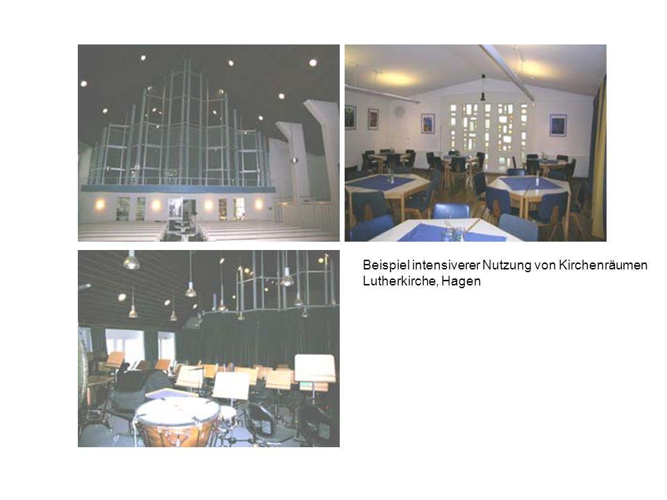 Beispiel intensiverer Nutzung von Kirchenräumen