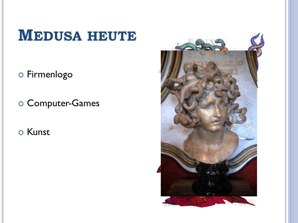 Medusa heute Firmenlogo Computer-Games Kunst