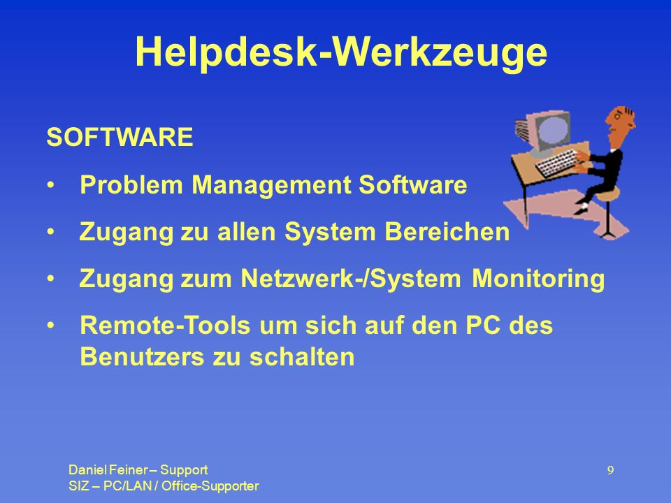 Helpdesk-Werkzeuge SOFTWARE Problem Management Software