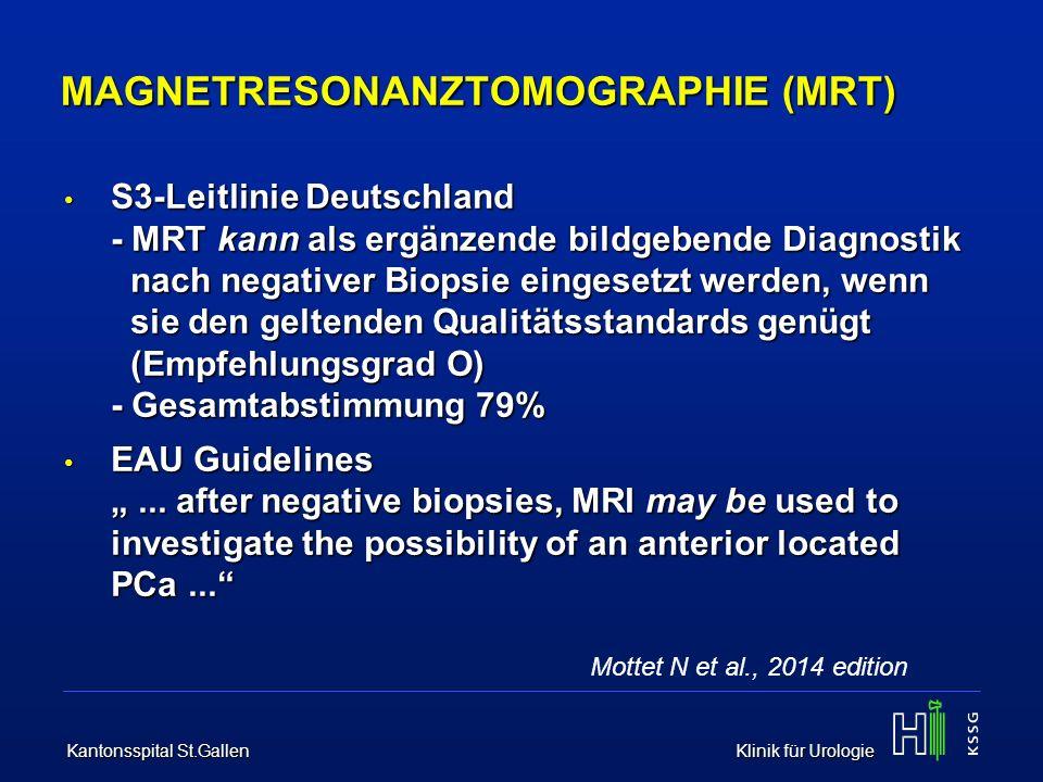 MAGNETRESONANZTOMOGRAPHIE (MRT)