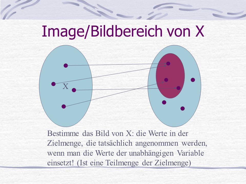 Image/Bildbereich von X