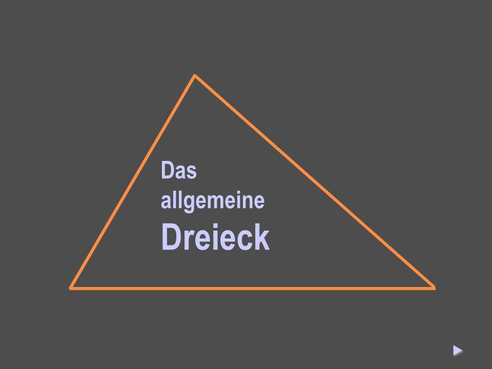 Das allgemeine Dreieck