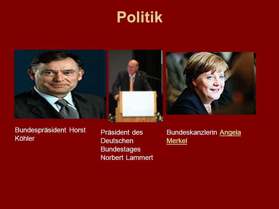 Politik Bundespräsident Horst Köhler