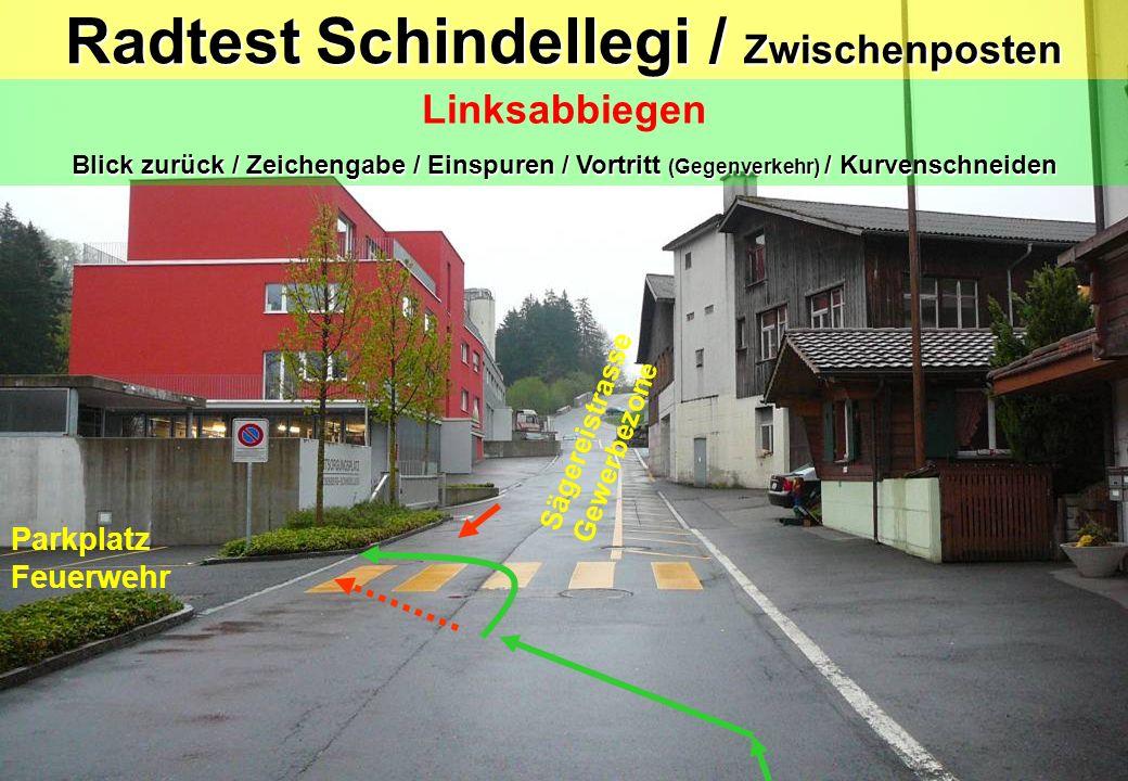 Radtest Schindellegi / Zwischenposten