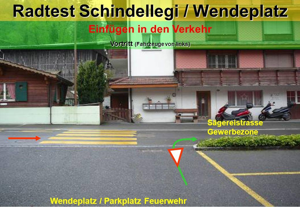 Radtest Schindellegi / Wendeplatz