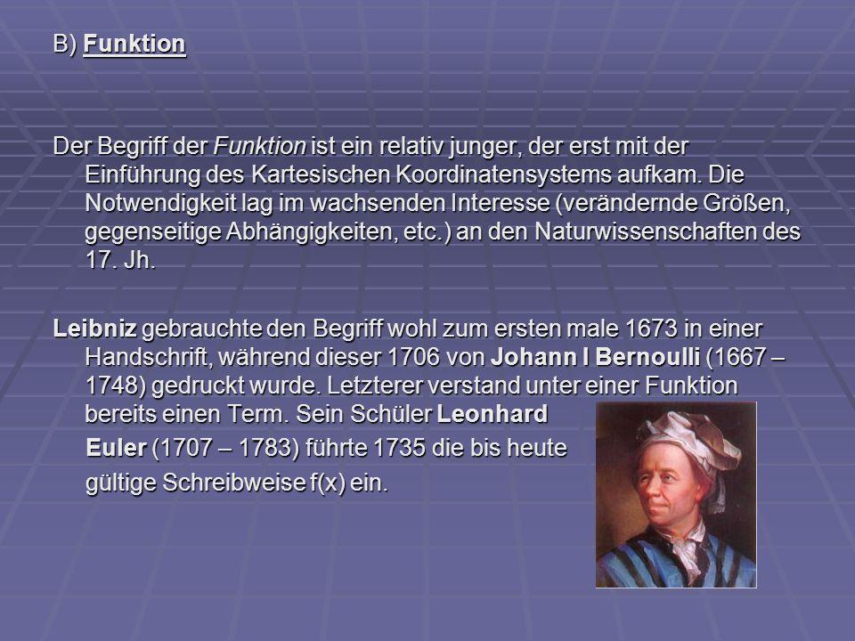 B) Funktion