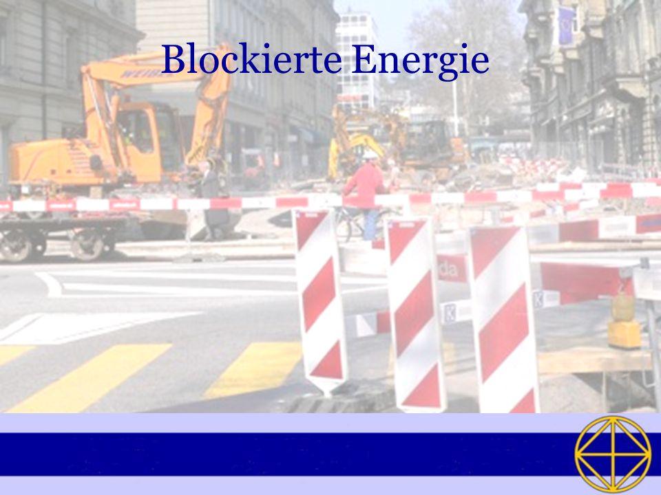 Blockierte Energie