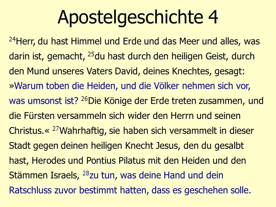 Apostelgeschichte 4