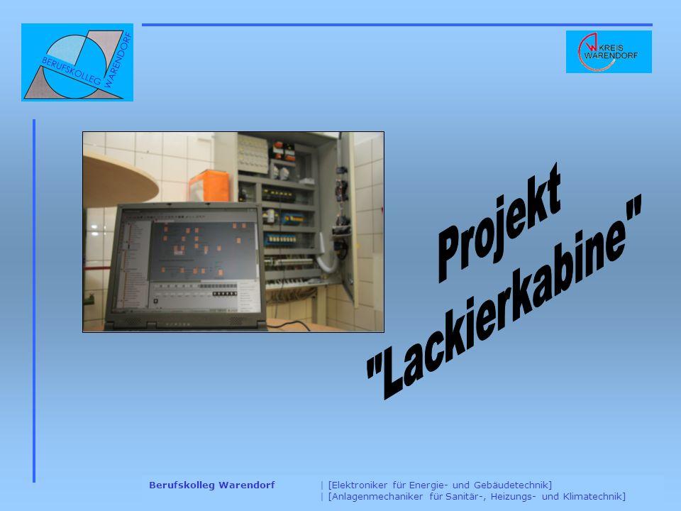 Projekt Lackierkabine