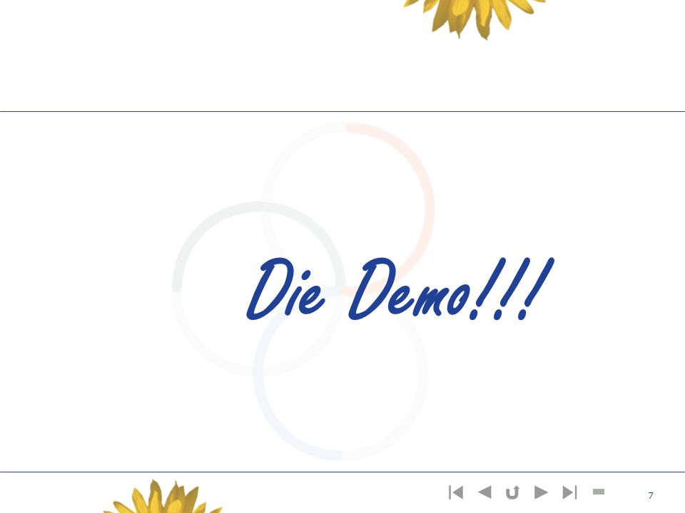 Die Demo!!!
