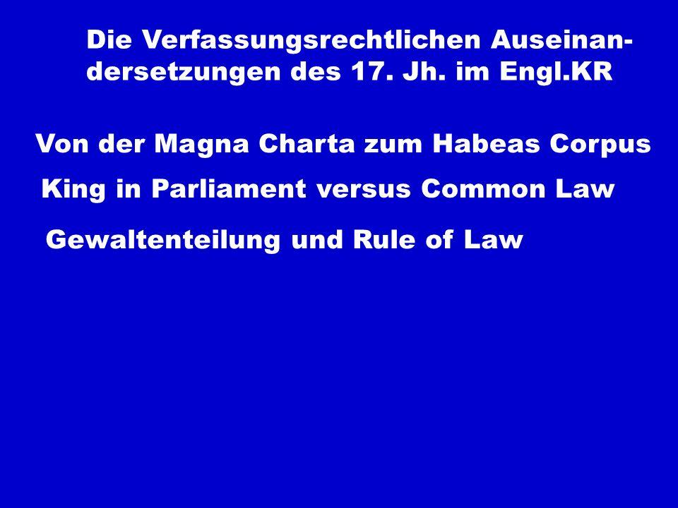 Die Verfassungsrechtlichen Auseinan-