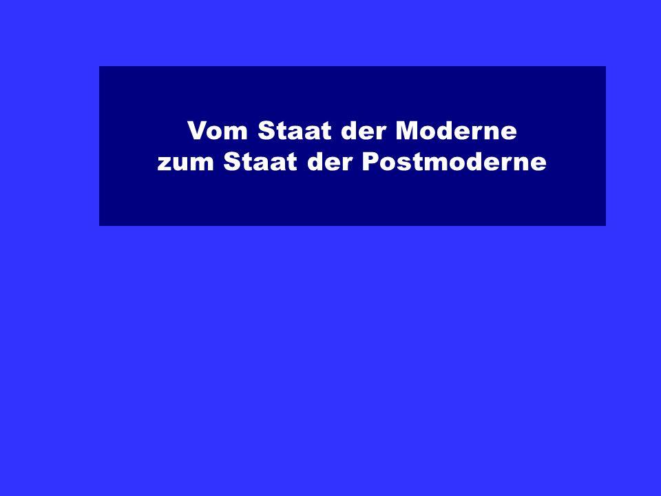 zum Staat der Postmoderne