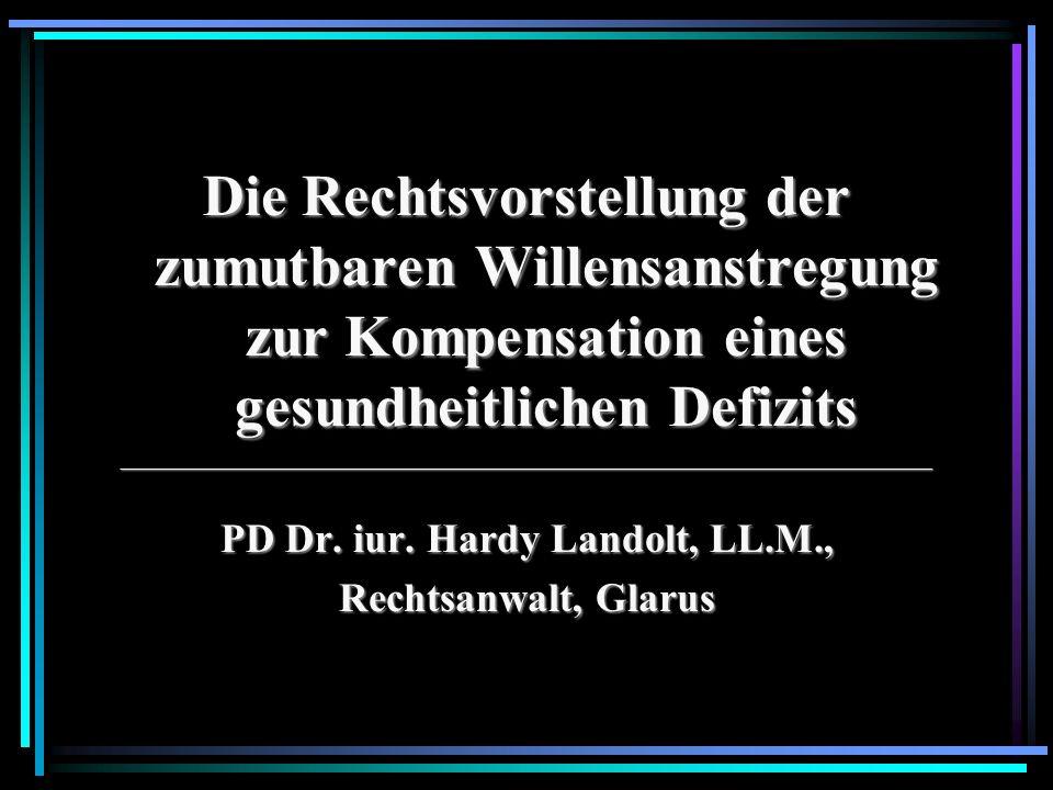 PD Dr. iur. Hardy Landolt, LL.M.,
