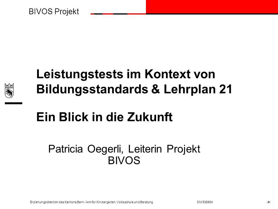 Patricia Oegerli, Leiterin Projekt BIVOS