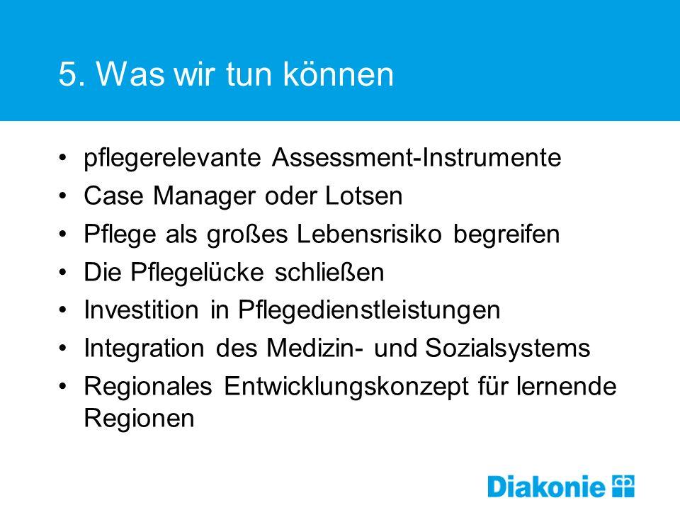 5. Was wir tun können pflegerelevante Assessment-Instrumente