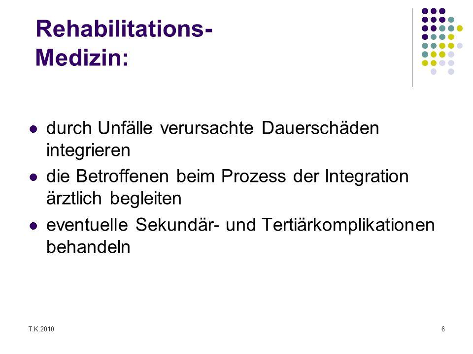 Rehabilitations- Medizin: