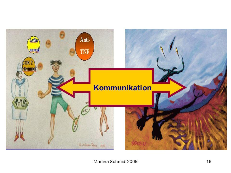 Kommunikation Martina Schmidl 2009