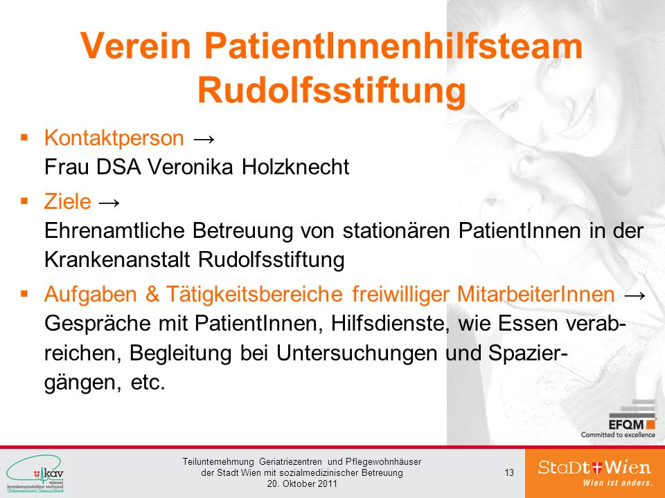 Verein PatientInnenhilfsteam Rudolfsstiftung