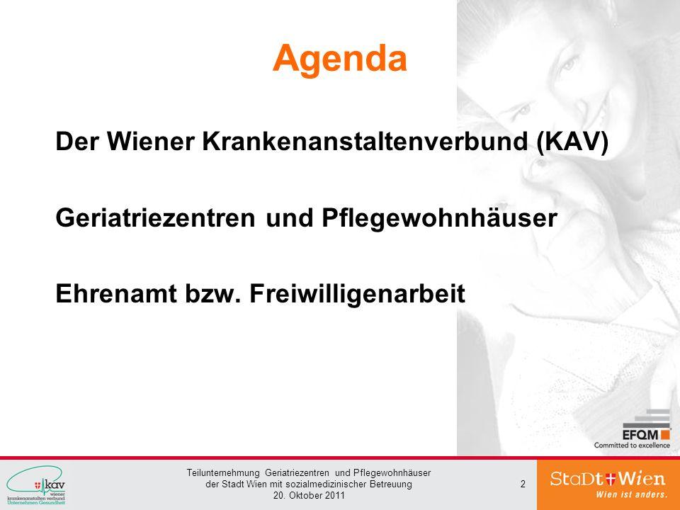 Agenda Der Wiener Krankenanstaltenverbund (KAV)