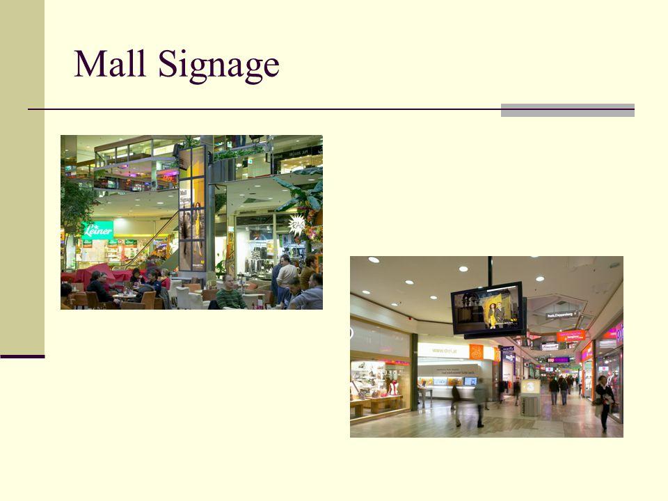 Mall Signage