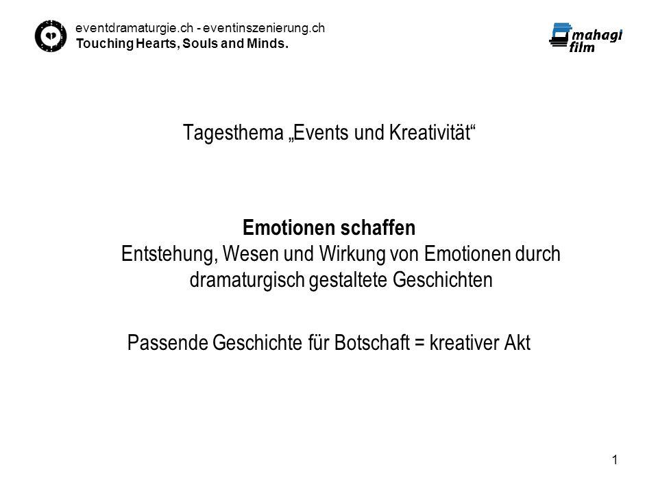 """Tagesthema """"Events und Kreativität"""