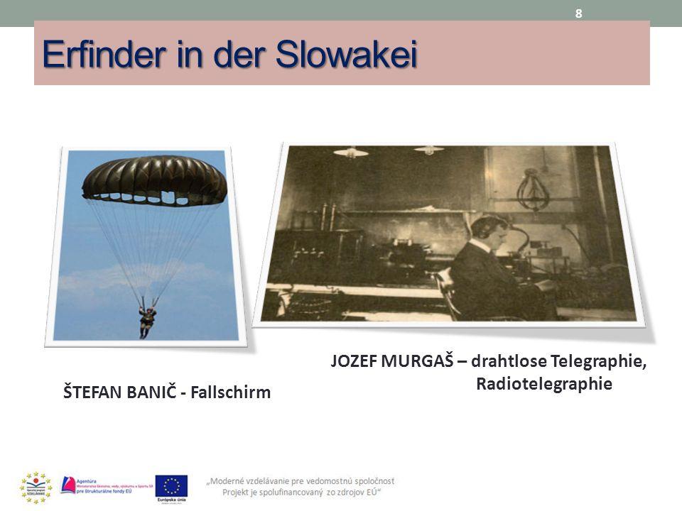Erfinder in der Slowakei