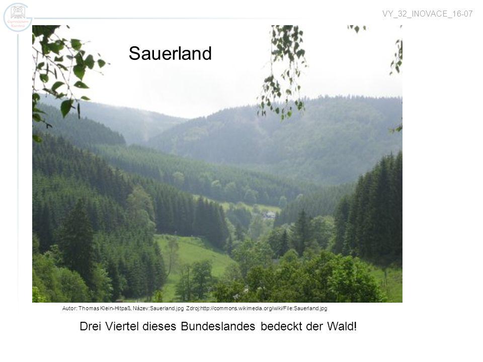 Sauerland Bodensee Drei Viertel dieses Bundeslandes bedeckt der Wald!