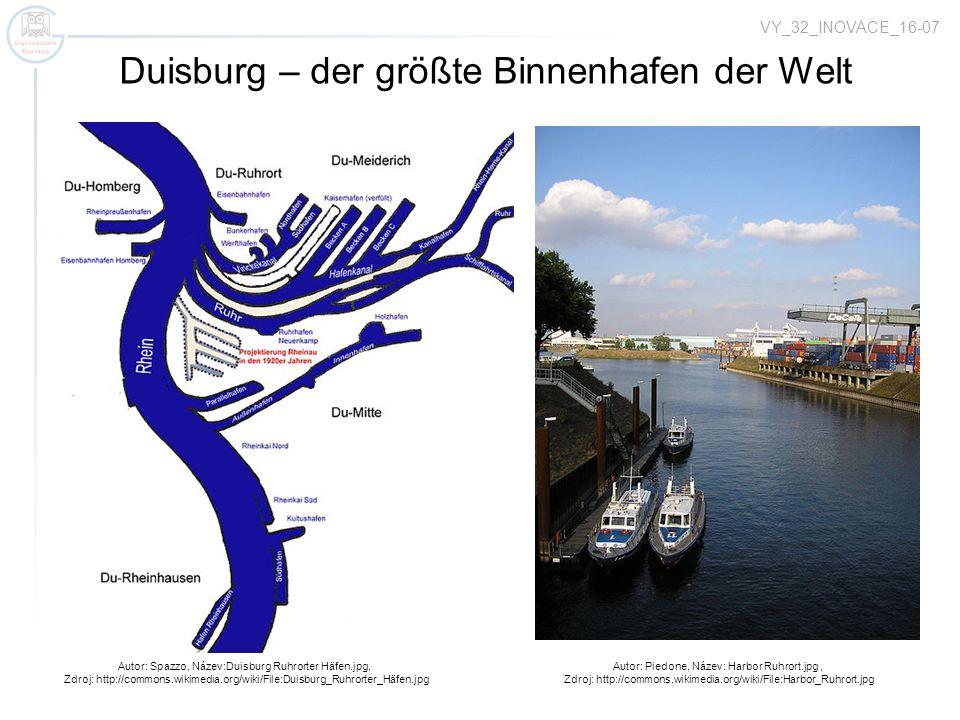 Duisburg – der größte Binnenhafen der Welt