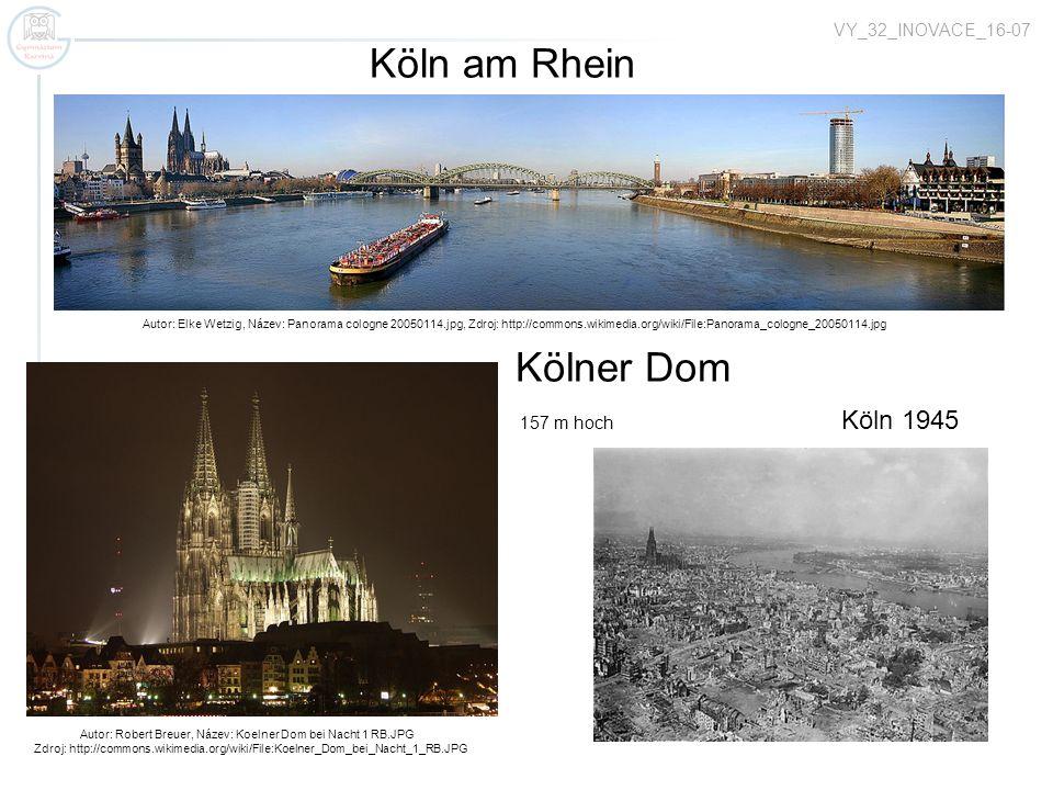 Autor: Robert Breuer, Název: Koelner Dom bei Nacht 1 RB.JPG