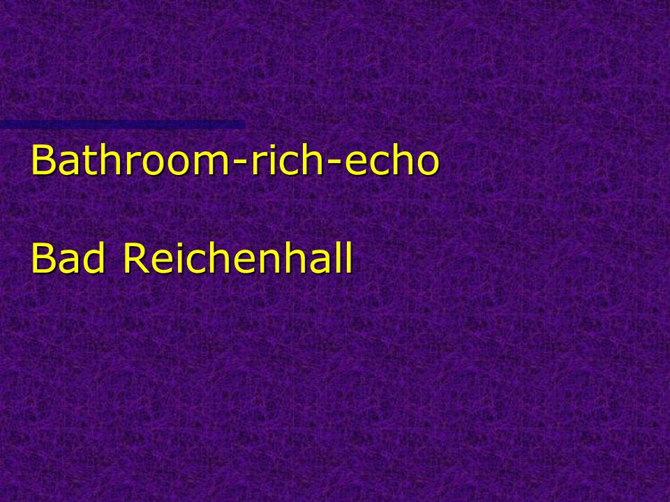 Bathroom-rich-echo Bad Reichenhall