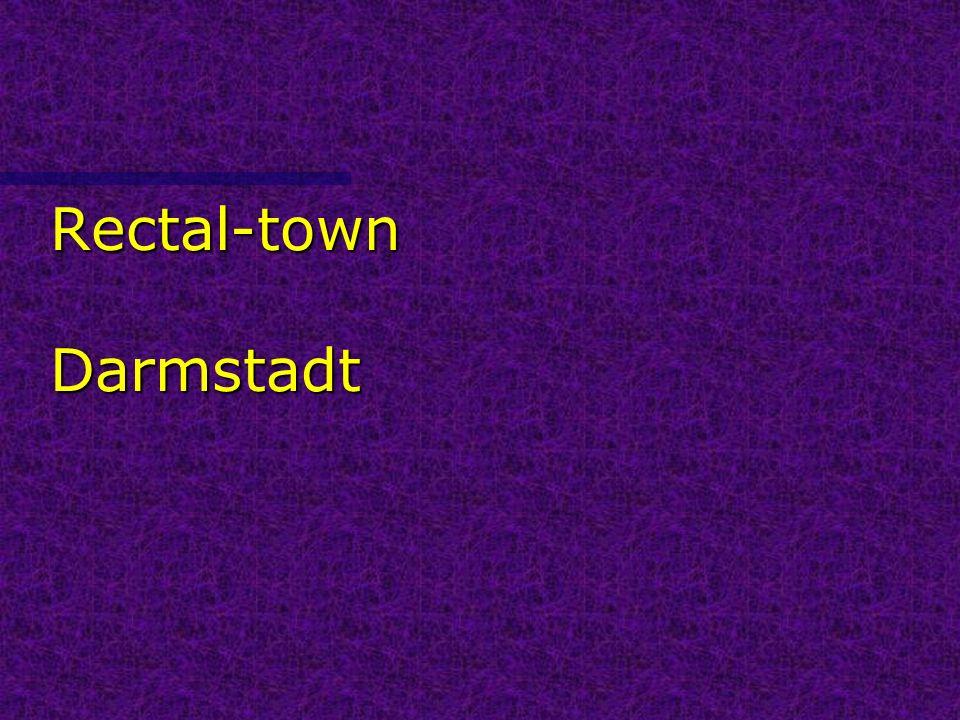 Rectal-town Darmstadt