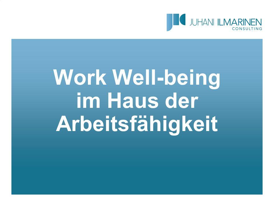 Work Well-being im Haus der Arbeitsfähigkeit