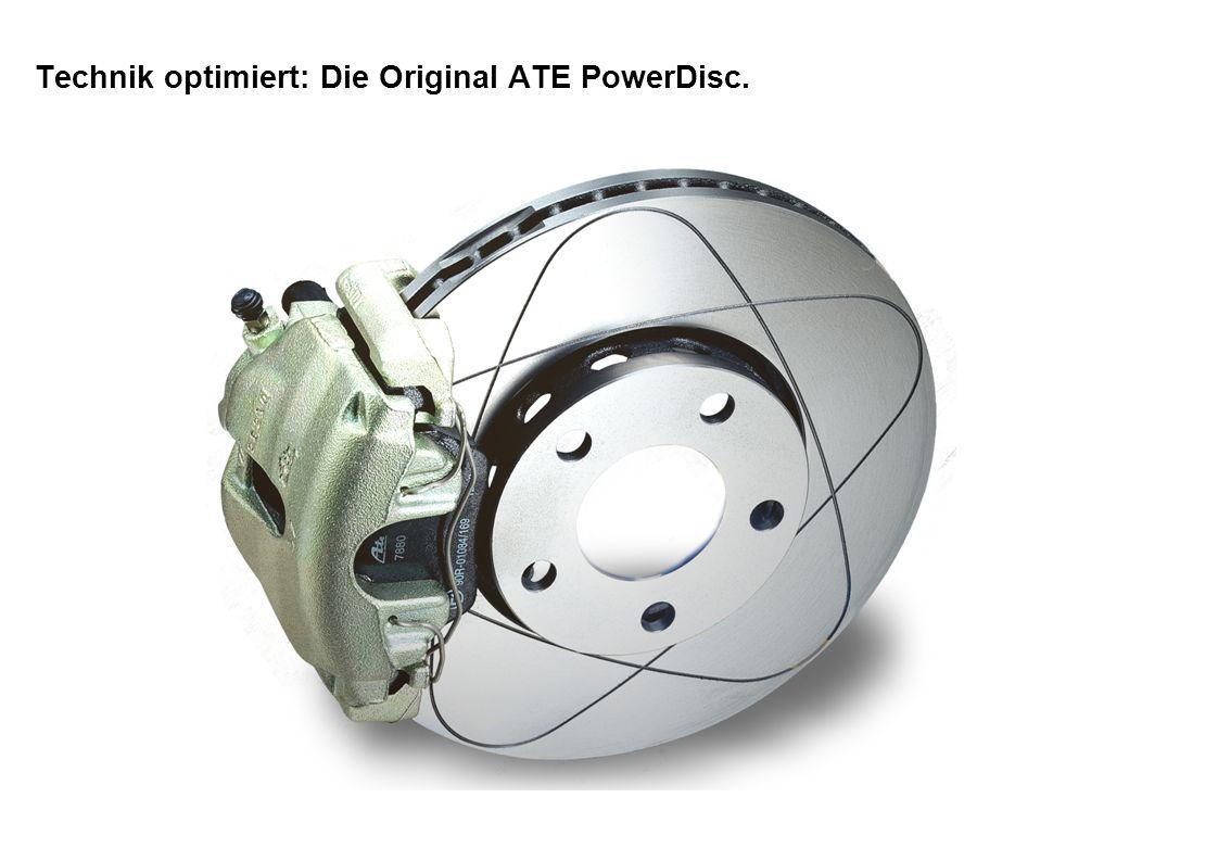 Technik optimiert: Die Original ATE PowerDisc.