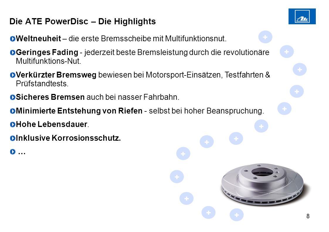 Die ATE PowerDisc – Die Highlights