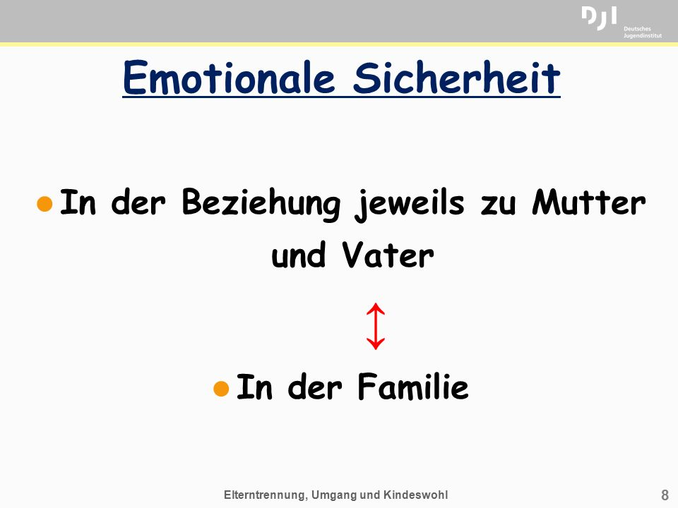 Emotionale Sicherheit