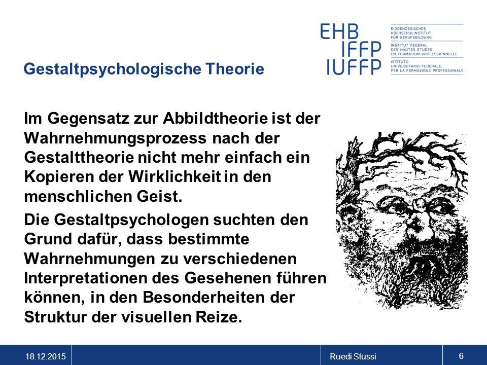 Gestaltpsychologische Theorie